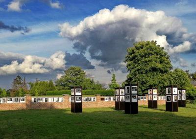 Lens op de mens 2019 | Route | Oude kerkhofmuur naast Palethe