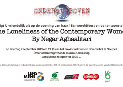 Wereldfeest | Negar Agha Ali Tari | The Loneliness of the Contemporary Women