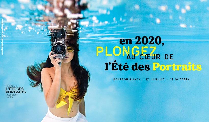 Eté des Portraits, affiche 2020