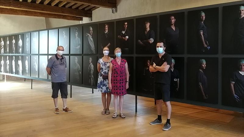 Bert Daenen | achter het masker | Refugiehuis Hasselt