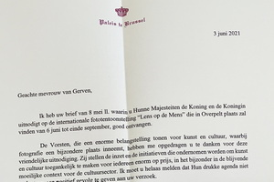 Brief van de koning aan LodM