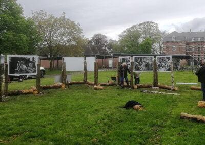 Lens op de Mens 2021 | Opbouw | Evi Polak, kloostertuin