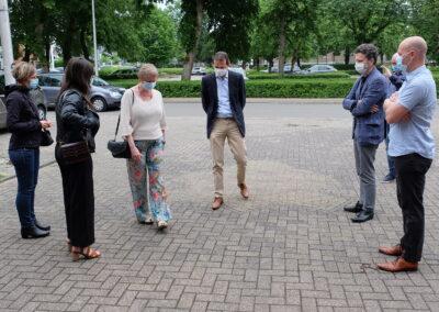Lens op de Mens 2021 | Minister Beke | ontvangst door Carine Van Gerven