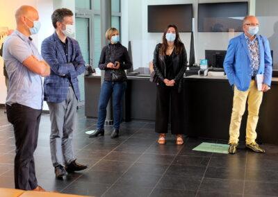 Lens op de Mens 2021 | Minister Beke | burgemeester Frank Smeets en schepene Niels Valkenborgh