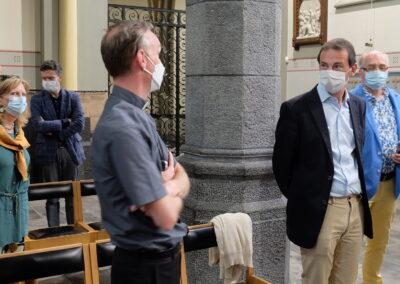Lens op de Mens 2021 | Minister Beke | met deken Jan Philippe
