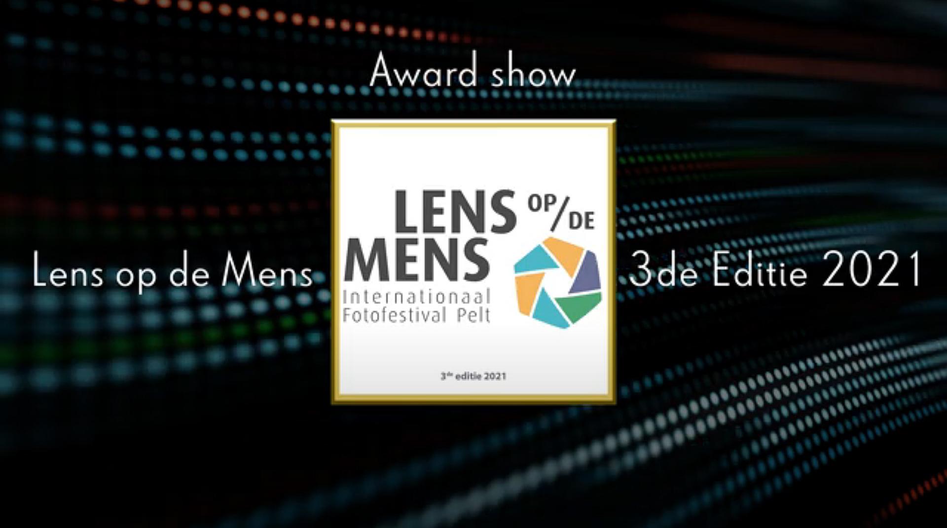 Award Show en opening Lens op de Mens 6 juni 2021
